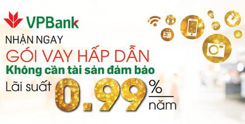 Ngân hàng Việt Nam Thịnh Vượng cho vay tiêu dùng