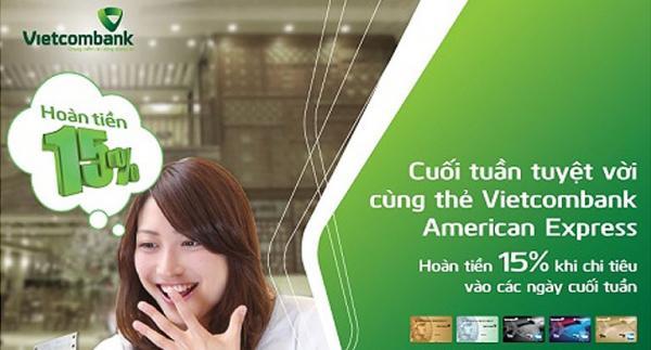 Cơ hội hoàn tiền tới 2 triệu đồng cho chủ thẻ Vietcombank American Express