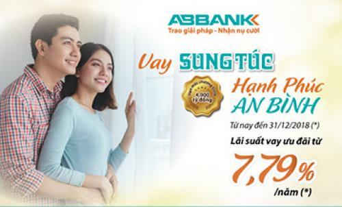 ABBANK cho vay mua nhà, mua xe với lãi suất chỉ từ 7,5%/năm