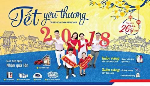 BIDV Ưu đãi lớn nhất trong năm, Tết yêu thương 2018