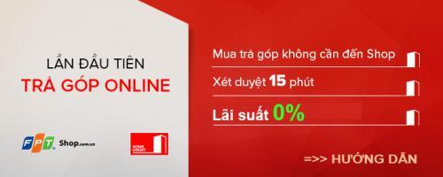 Hướng dẫn mua trả góp online tại FPT Shop