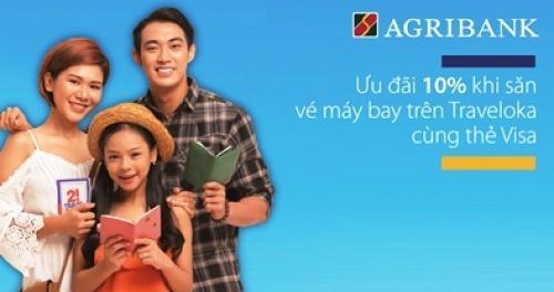 Thêm ưu đãi dành cho chủ thẻ Agribank MasterCard và Visa