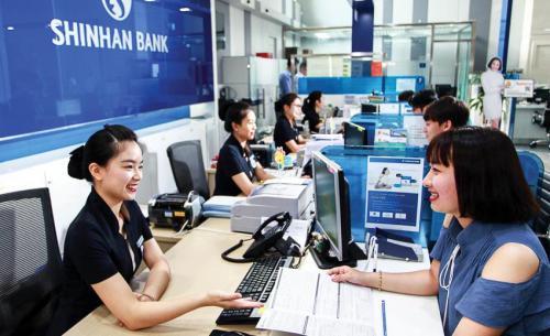 Lãi suất vay tiêu dùng tín chấp Shinhan Bank