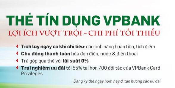 mo the tin dung vpbank