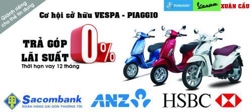 Vay Mua xe máy trả góp lãi suất 0% tại Adayroi