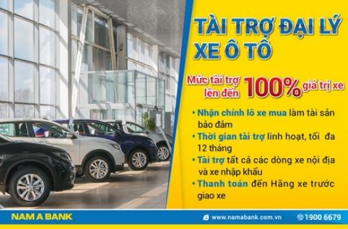 Nam A Bank ra mắt sản phẩm dành riêng cho các đại lý xe ô tô