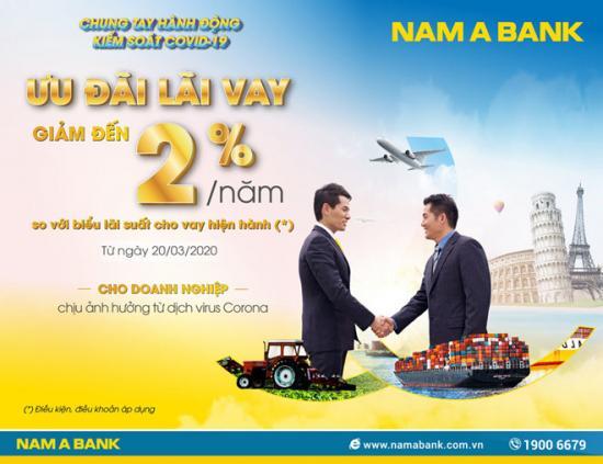 Covid-19, Nam A Bank tiếp tục ưu đãi lãi vay hỗ trợ khách hàng mùa dịch