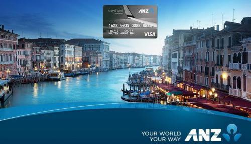 Thẻ tín dụng ANZ Travel Platinum