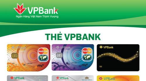 VPBank tặng thẻ tín dụng