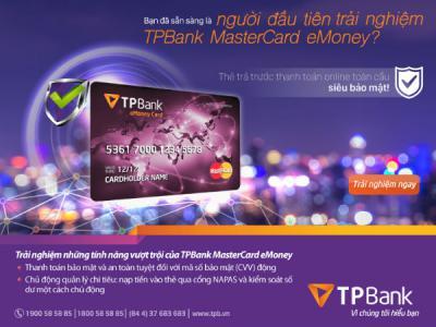 TPBank ra mắt dòng thẻ mới thanh toán online toàn cầu siêu bảo mật