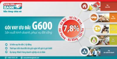 Kienlongbank triển khai Gói tín dụng ưu đãi tại 5 thành phố lớn