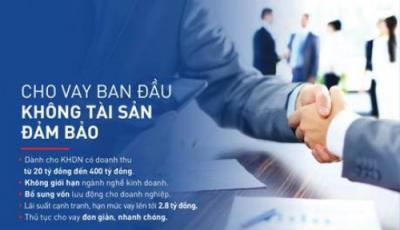 Vay không tài sản đảm bảo cho khách hàng doanh nghiệp tại NCB