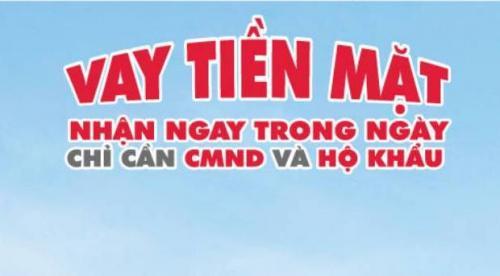 Vay tiền nhanh TPHCM vay tiền online nhanh trong ngày