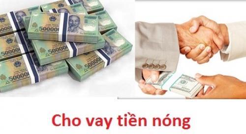 Vay tiền nóng nhanh nhận tiền trong ngày