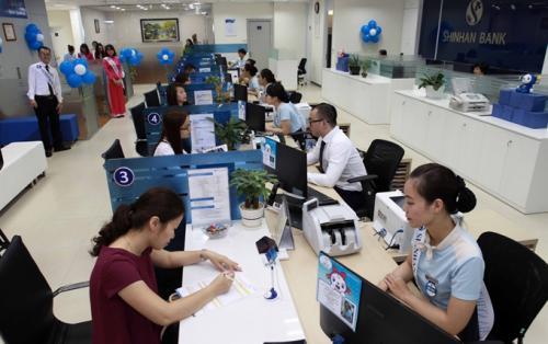 Lãi suất vay tín chấp tiêu dùng Ngân hàng Shinhan Bank