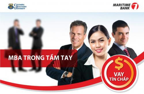 Vay tín chấp maritime bank