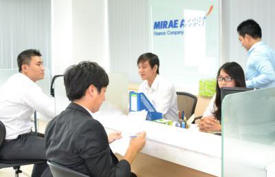 Vay tín chấp theo lương Mirae Asset