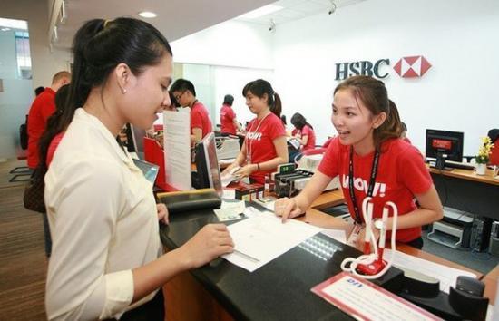 Vay tín chấp theo lương ngân hàng HSBC