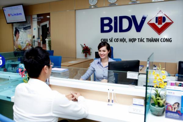 Vay vốn BIDV