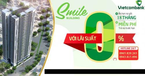 VietcomBank cho vay mua dự án Smile Building lãi suất 0%