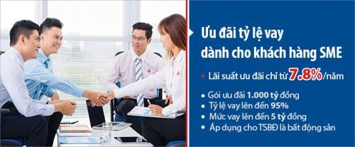 VietCapitalBank cho doanh nghiệp vừa, nhỏ và siêu nhỏ vay với lãi suất chỉ từ 7,8%