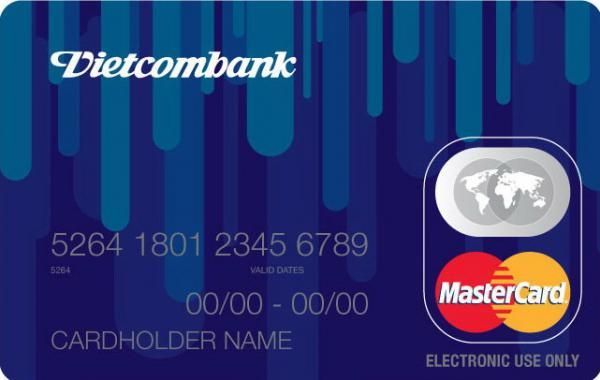 Thẻ tín dụng Vietcombank MasterCard Cội Nguồn
