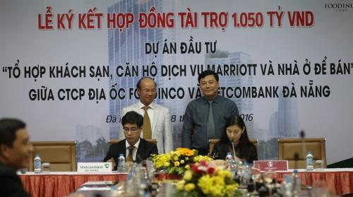 Vietcombank tài trợ hơn 1000 tỷ đồng cho Dự án Marriott