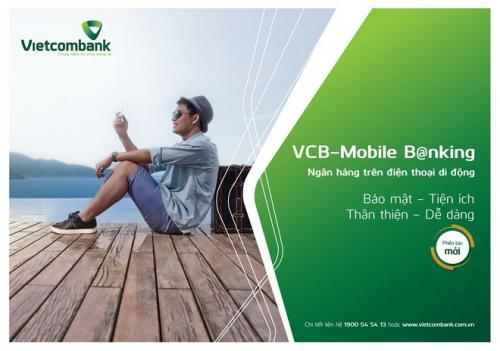 Vietcombank triển khai loạt tính năng mới trên VCB Mobile