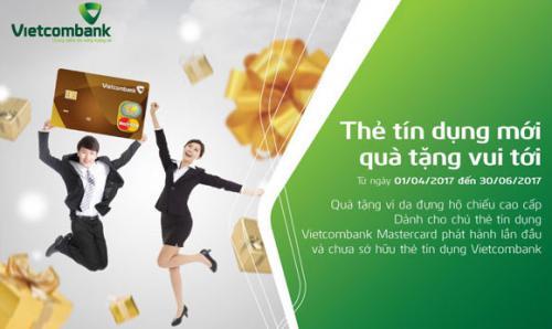 Vietcombank Thẻ tín dụng mới quà tặng vui tới
