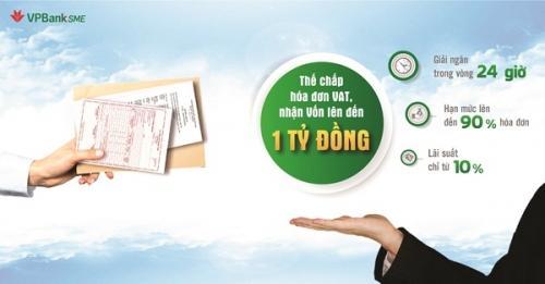VPBank Tiên phong trong cho vay doanh nghiệp nhỏ