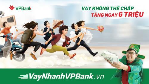 Ra mắt thương hiệu vay tín chấp vay nhanh VPBank
