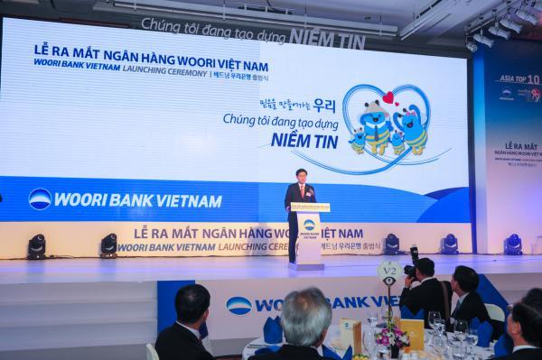 Woori Bank mở rộng hoạt động tại Việt Nam