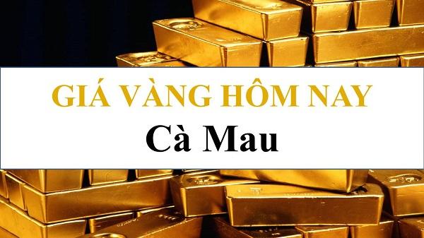 Giá vàng 24K ngày hôm nay tại Cà Mau