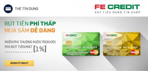 Tìm hiểu về sản phẩm thẻ tín dụng của FE Credit