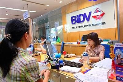 Ngân hàng BIDV Cho vay tiêu dùng không có tài sản bảo đảm